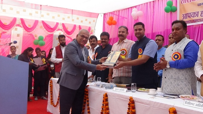 Higher education minister Hon'ble Umesh Patel at annual function
